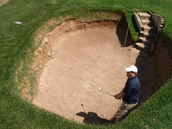 deep bunker